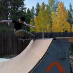 Patty Nose Stall on Outdoor Mini Ramp